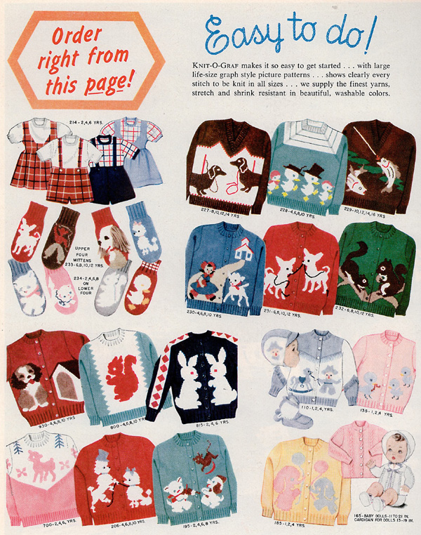 Knit-O-Graf ad from 1959 McCalls Needlework & Crafts
